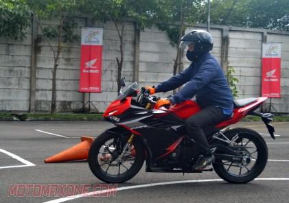 First Ride All New Honda CBR150R 2021 motomaxonecom 5