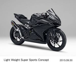 Honda CBR250RR concept renderan Young Machine