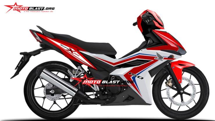 Renderan Honda Supra X150 Sudah Pantaskah Melawan Yamaha Mx King
