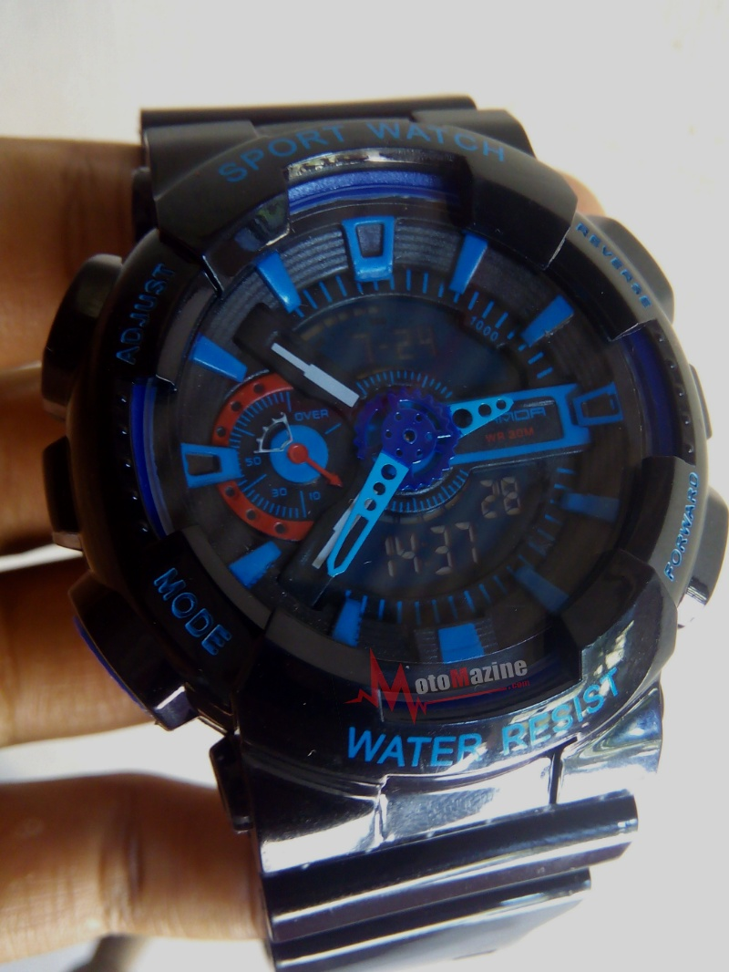 Cara Setting Jam Tangan Dual Time (Analog + Digital)  12a1a05ce1