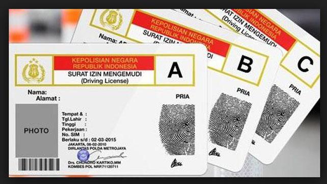contoh surat izin mengemudi