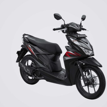 All New Honda BeAT 2020 Hard Rock Black
