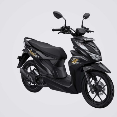 All new honda beat street black