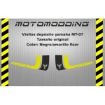 pegatinas-depósito-yamaha-mt07 Pegatinas motocicleta Yamaha Mt 07 carenado guardabarros colín...