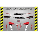 pegatinas-yamaha-mt-07-aniversario-5 Pegatinas motocicleta Yamaha Mt 07 carenado guardabarros colín...