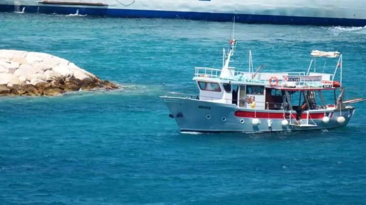 La Motonave Victor alle Isole Tremiti