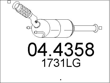 Katalizator peugeot 407 407 sw 6e 2.0 HDi 135 (136KM