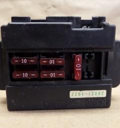 1993 kawasaki ninja zx11 zx1100 fuse box with fuses ebay 2013 kawasaki ninja 650 fuse box [ 1024 x 768 Pixel ]