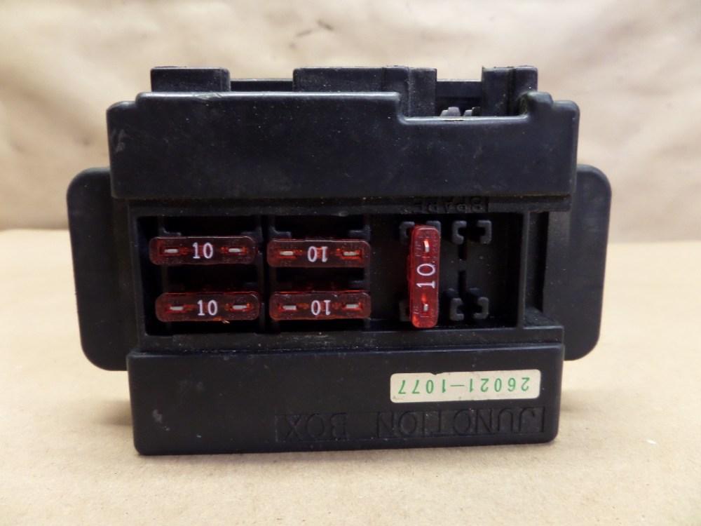 medium resolution of 1993 kawasaki ninja zx11 zx1100 fuse box with fuses ebay 2013 kawasaki ninja 650 fuse box
