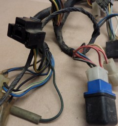 1985 yamaha vmax 1200 vmx12 wiring harness w fuse box and other used motorcycle parts motoplane parts [ 1024 x 768 Pixel ]