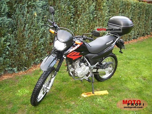 Microfiche Identification Motorcycle Xr 125 L Electric Start Cyl