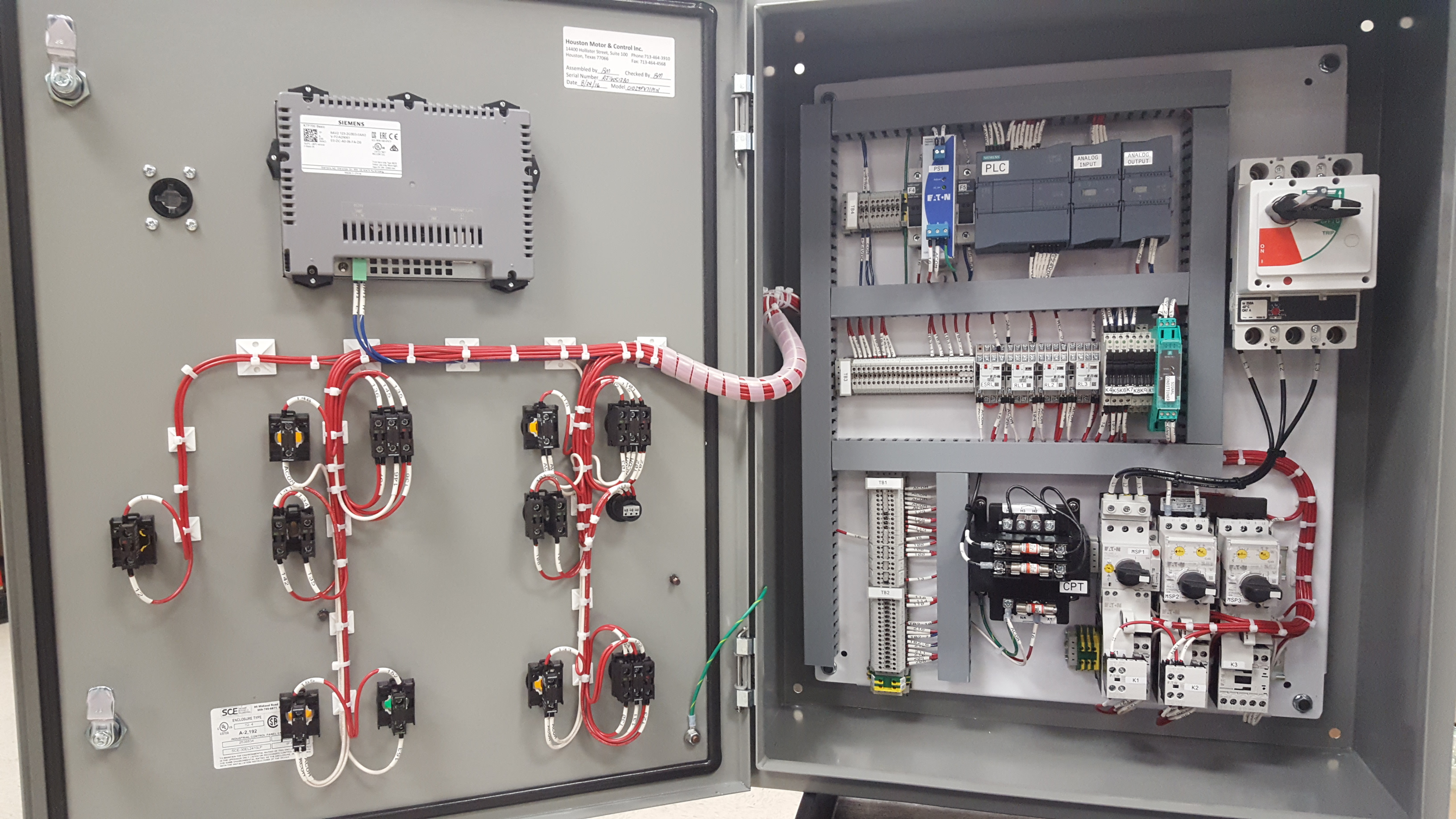 wiring diagram plc panel electrical for water pump motor set control design houston