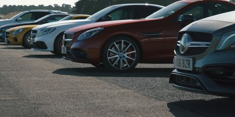 Ultimate AMG drag race video