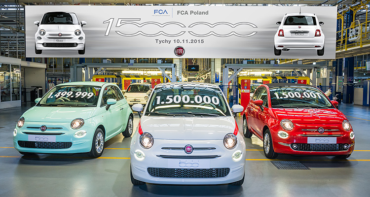 Fiat 500's on sale
