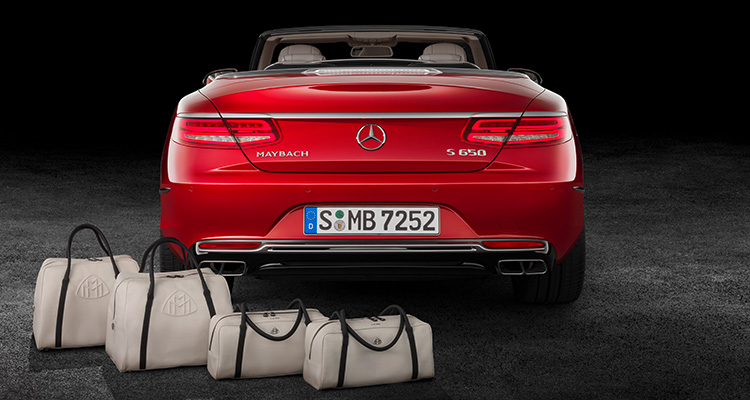 Mercedes Maybach S650 The Affinity set