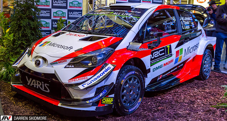 Autosport International 2018 rally Yaris