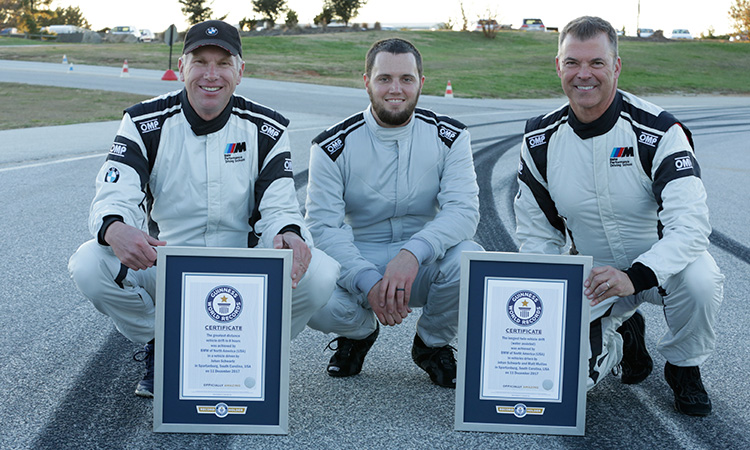 BMW M5 guinness world record