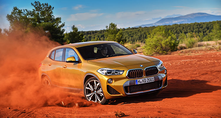 BMW X2 action
