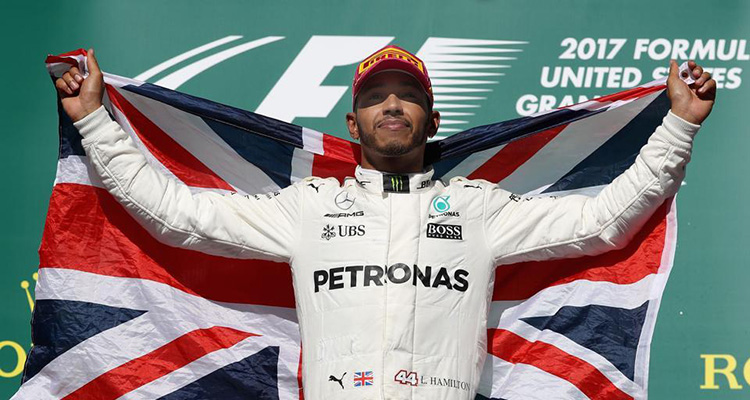 Lewis Hamilton 2017 World Champion
