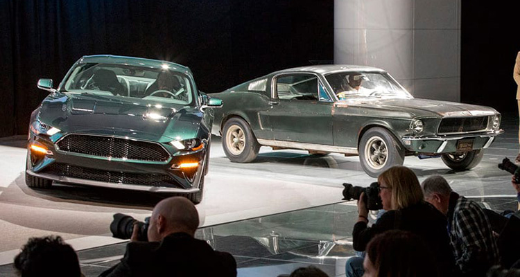 Mustang Bullitt old and new