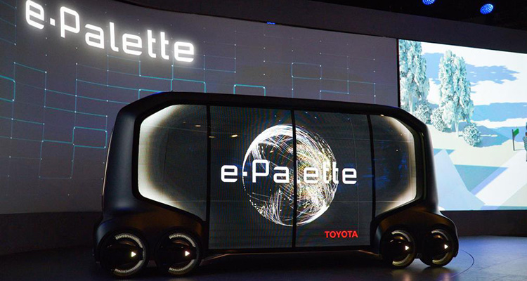 toyota e-palette electric concept side
