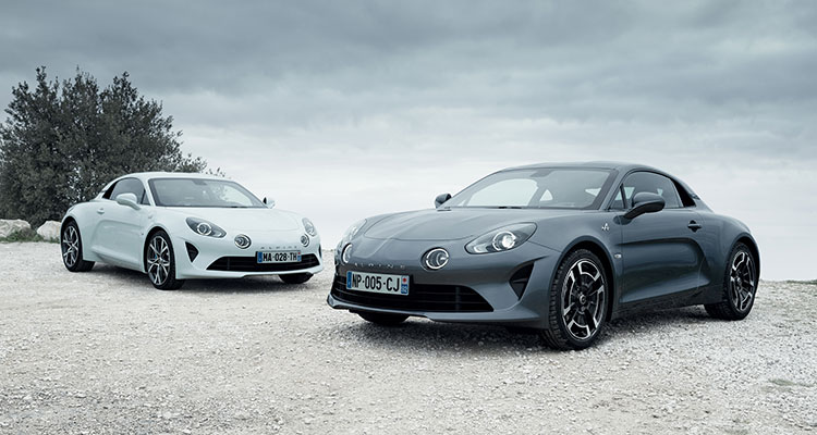 A110 Pure and A110 Legende
