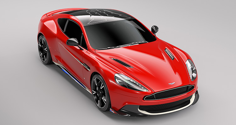 Aston Martin Red Arrow Vanquish S