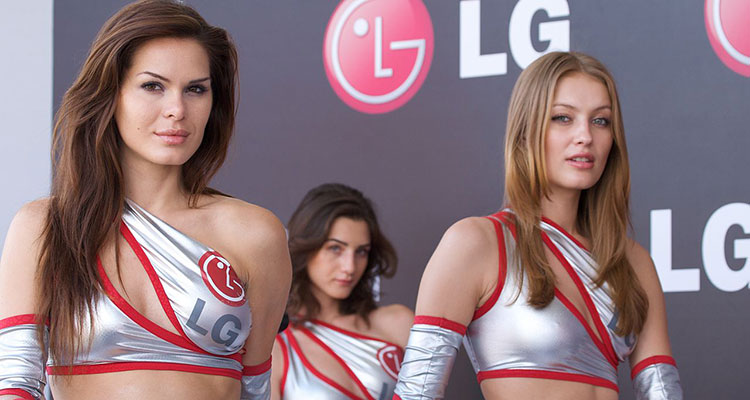 Formula One LG Girls