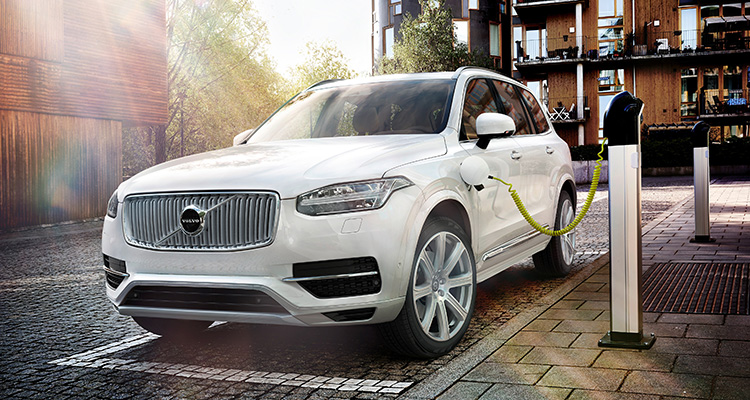 Plug-in Volvo XC90