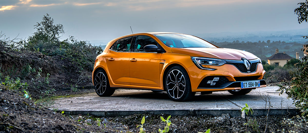 Renault Mégane R.S feature