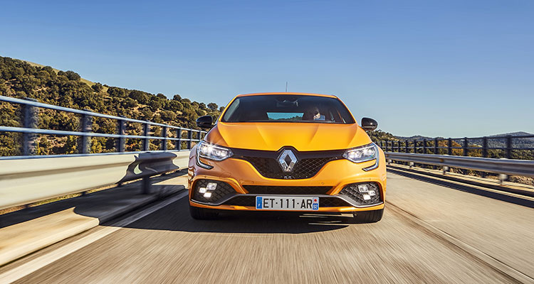 Renault Mégane R.S front