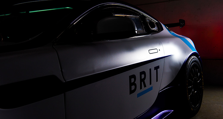 Team Brit Aston Martin Vantage