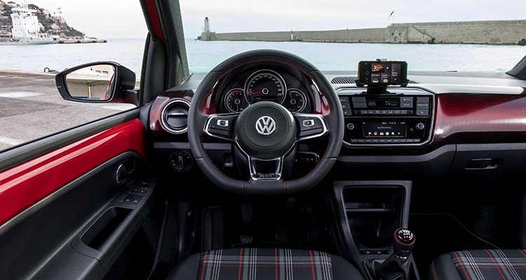 Volkswagen up! GTI interior