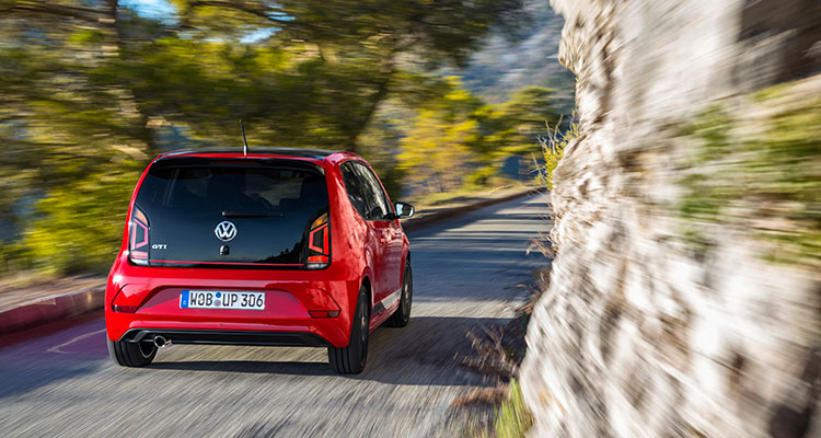 Volkswagen up! GTI rear