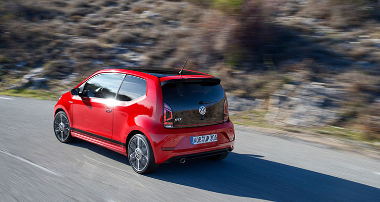 Volkswagen up! GTI side