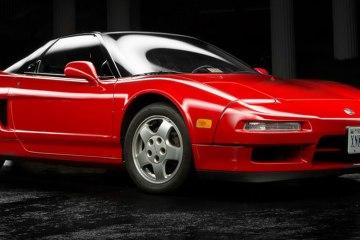classic Honda NSX feature
