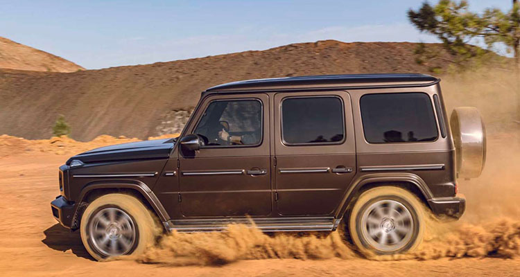 mercedes benz g-class side