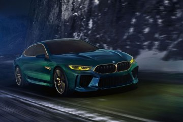 BMW M8 Grand Coupe Concept