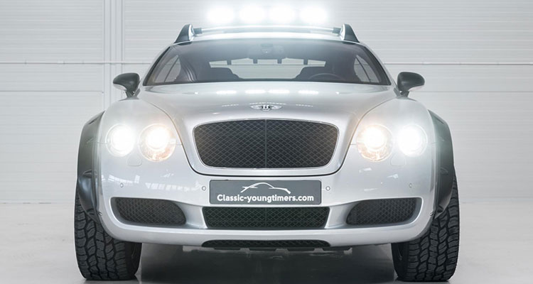 Bentley Continental GT Off Roader Front Lights
