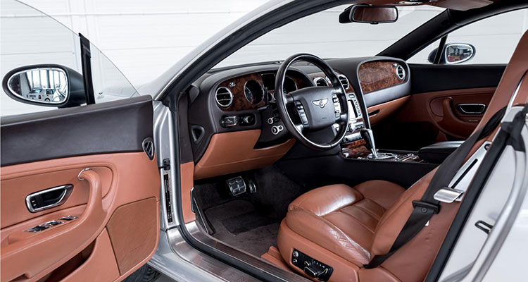 Bentley Continental GT Off Roader interior