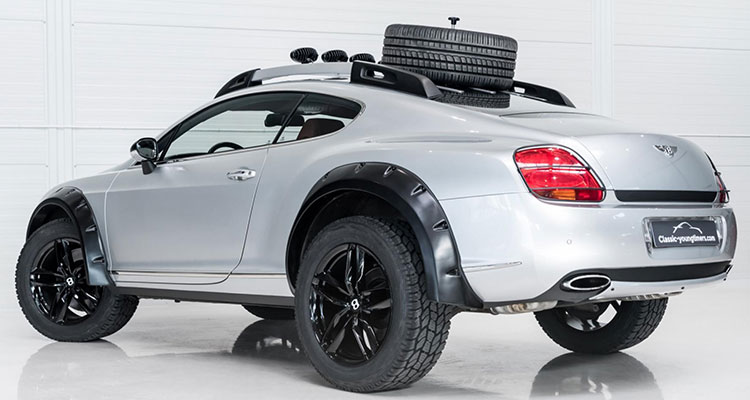 Bentley Continental GT Off Roader Rear Side