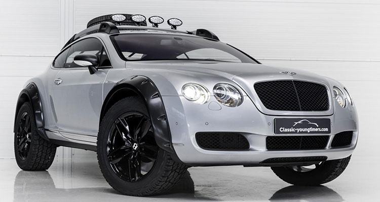 Bentley Continental GT Off Roader front side