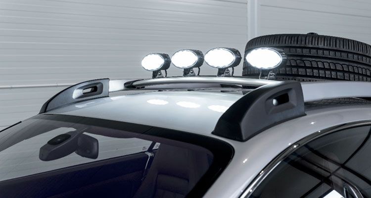 Bentley Continental GT Off Roader Lights
