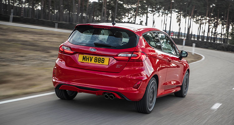 2018 Ford Fiesta ST2 Rear