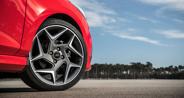 2018 Ford Fiesta ST2 Wheel