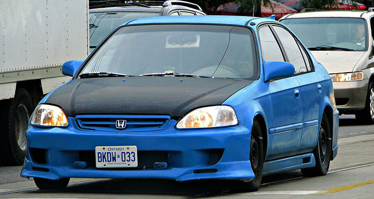 Honda Civic Modded