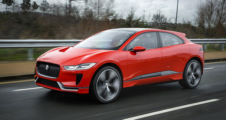 Jaguar Ipace side