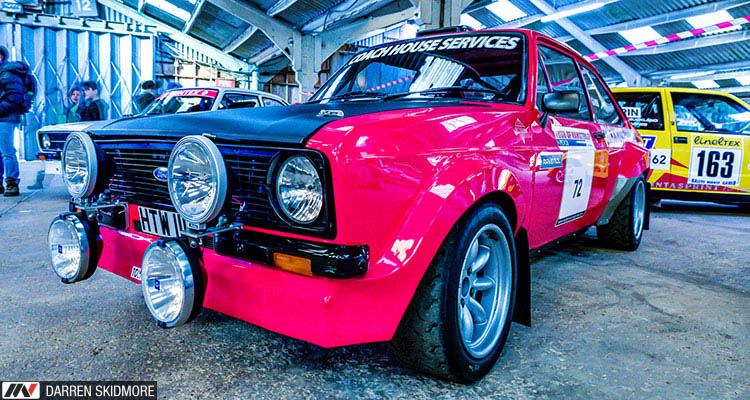 Race Retro 2018 Pink Ford