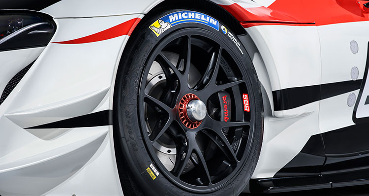 Toyota Supra Racing Concept wheel