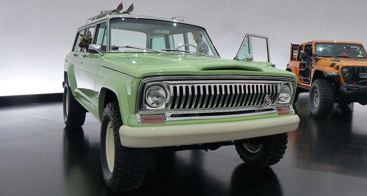jeep wrangler wagoneer concept front
